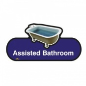 Find Signage Dementia Assisted Bathroom Sign