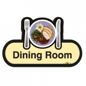 Find Signage Dementia Dining Room Sign
