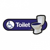 Find Signage Dementia Disabled Toilet Sign