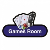 Find Signage Dementia Games Room Sign