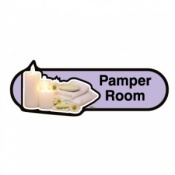 Find Signage Dementia Pamper Room Sign