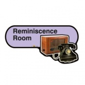 Find Signage Dementia Reminiscence Room Sign