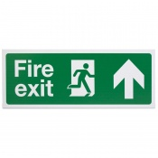 'Fire Exit Up' Safety Sign