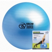 Fitness-Mad 300kg Swiss Ball, Pump and DVD