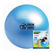 Fitness-Mad 300kg Swiss Ball, Pump and Online Guide