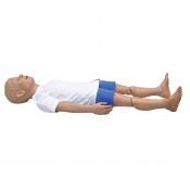 Five Year Old CPR and Trauma Care Simulator