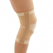 Four-Way Elastic Knee Support with Patella Ring