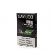 Gamucci Premium Menthol High E-Liquid Refill Cartridges