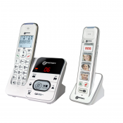 Geemarc AmpliDECT 295 Amplified Cordless and Photo Phone Combination Pack