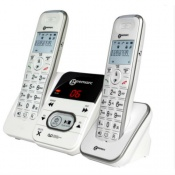 Twin Pack of Geemarc AmpliDECT 295 Amplified Cordless Telephones with Answering Machine
