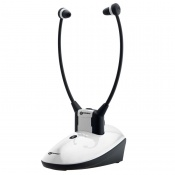 Geemarc Amplified Wireless TV Headset Listener for the Hard of Hearing