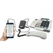V2T-10 Landline-to-Smartphone Voice to Text Converter