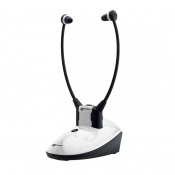Geemarc Amplified Wireless TV Headset DUO Listener for the Hard of Hearing
