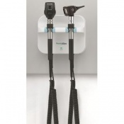 Welch Allyn Green Series Wall Diagnostic Set with F.O. Otoscope and Coaxial Ophthalmoscope (77754)