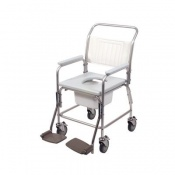Homecraft Aluminium Shower Commode Chair