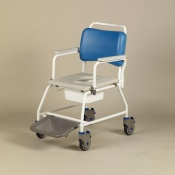 Homecraft Atlantic Commode Shower Chair with Footrests