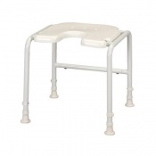 Homecraft Days White Line Shower Stool