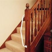Newel 90° Twist Grab Rail
