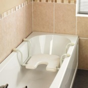 Homecraft White Line Suspended Bath Seat