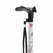 Homecraft Woodland Flower Contoured Grip Walking Stick