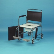 Homecraft Adjustable-Height Mobile Commode
