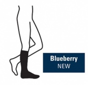 Juzo Attractive Below Knee 18-21mmHg Blueberry Compression Stocking