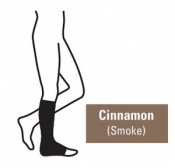 Juzo Attractive Below Knee 23-32mmHg Cinnamon Compression Stocking with Open Toe