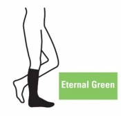 Juzo Attractive Below Knee 18-21mmHg Eternal Green Compression Stocking