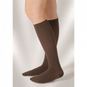 Juzo Attractive Below Knee 18-21mmHg Cacao Compression Stocking
