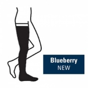 Juzo Attractive Thigh 18-21mmHg Blueberry Compression Stocking