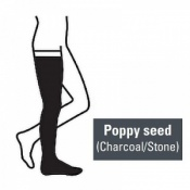 Juzo Attractive Thigh 18-21mmHg Poppy Seed Compression Stocking