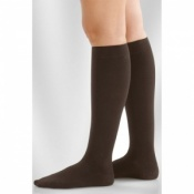 31968929de Juzo Dynamic Class 1 Black Pepper Knee High Compression Stockings with Thin  Silicone Border