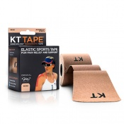 KT Tape Kinesiology Therapeutic Tape Beige
