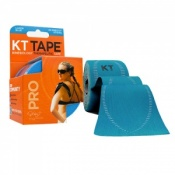 KT Tape Pro Synthetic Kinesiology Therapeutic Tape Laser Blue