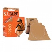 KT Tape Pro Synthetic Kinesiology Therapeutic Tape Stealth Beige