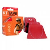 KT Tape Pro Synthetic Kinesiology Therapeutic Tape Rage Red