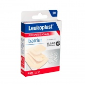 Leukoplast Professional Dirt Resistant Barrier Plasters Assorted Sizes (Pack of 20)