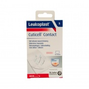 Leukoplast Cuticell Contact Soft Silicone Wound Dressings (Pack of Five)