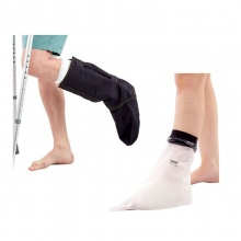 LimbO Showerproof Foot Cast Protector and OUTCAST Outdoor Foot Cast Protector Bundle Pack