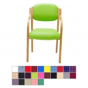 Medi-Plinth Wooden Frame Waiting Room Chair