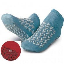 Medline Double Tread Slipper Socks