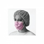 Medline Fluid Resistant Procedure Face Mask (Box of 50 Masks)