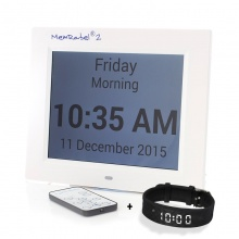 Dementia Memory Aid Kit (Reminder Watch and Alarm Combo)