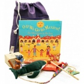 Off we go to Mexico Sensory Toy Story Book