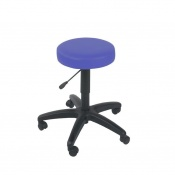 Sunflower Medical Mid Blue Gas-Lift Stool