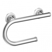 135/° Curved/ Grab Bar 30/×26CM Stainless Steel Support Rail Bathtub Bathroom Wall-Mounted Anti-Slip Handrail Children Disabled Elderly Assist Safety Angled Grab Bar Size