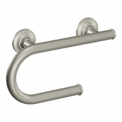 Moen Designer Grab Bar with Integrated Paper Holder