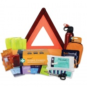 Accident, Emergency and Breakdown Motokit with First Aid Kit