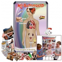 My BodyBoard Dangers of Smoking Professional Magnetic Pack Bundle