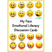 My Face Emotional Literacy Discussion Cards